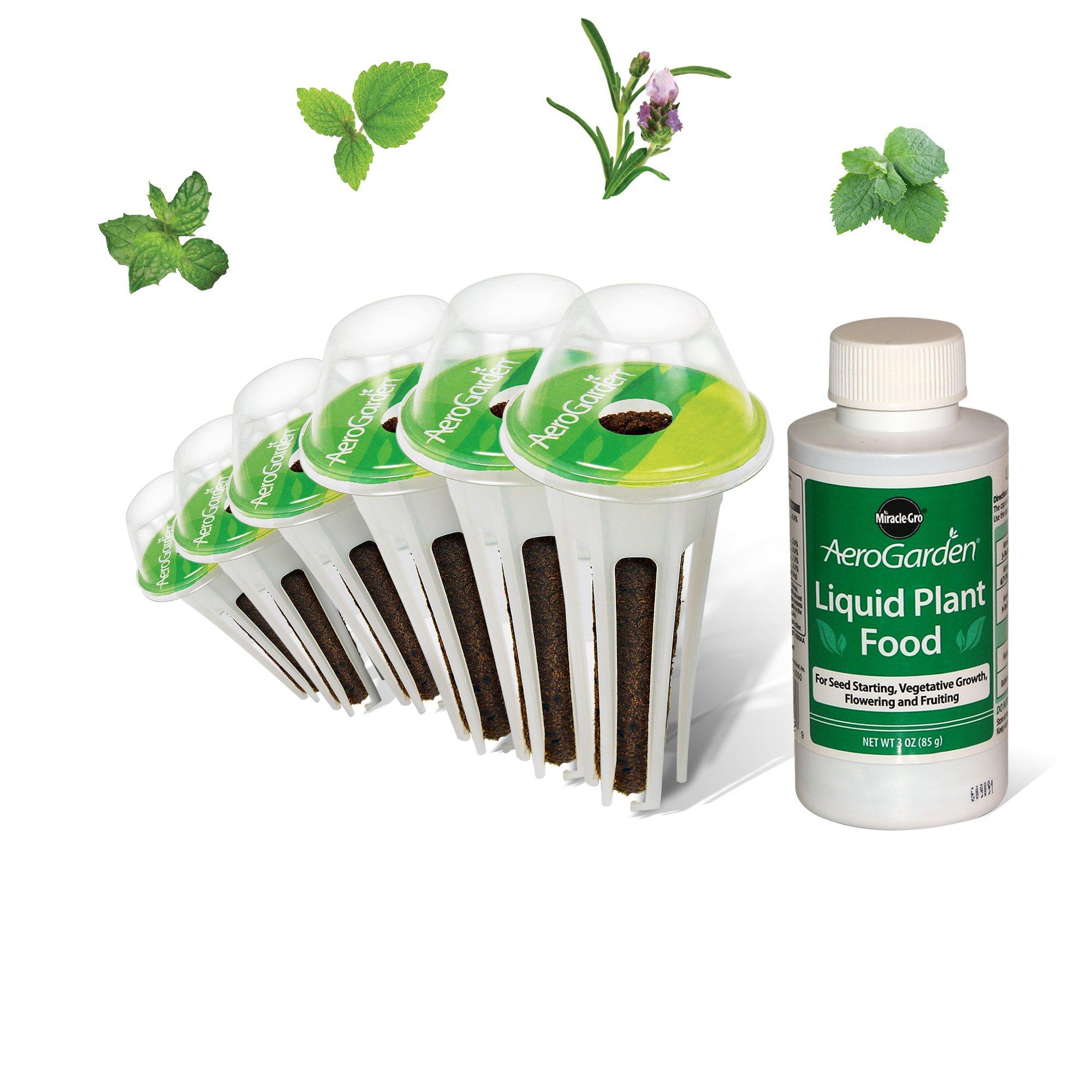 AeroGarden Fresh Tea Seed Pod Kit (6-Pod)