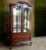 Classic Living Room Furniture Showcase Cabinet - Mahogany Furniture Indonesia