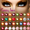 New stock wholesale color contact lens Pinhead Halloween crazy eye ware contact lenses