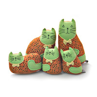 Cute cat stuffed animal wholesale/ handmade animal toy made in Vietnam