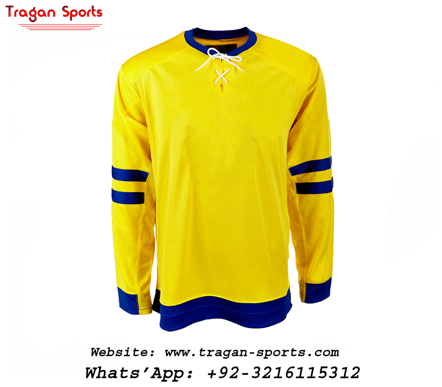 Ice Hockey Jersey Vintage Yellow Color Blank Ice Hockey Jersey - Buy ... ed495a98f