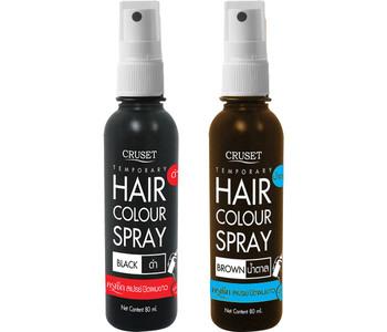 Cruset Temporary Hair Color Spray 80 Ml