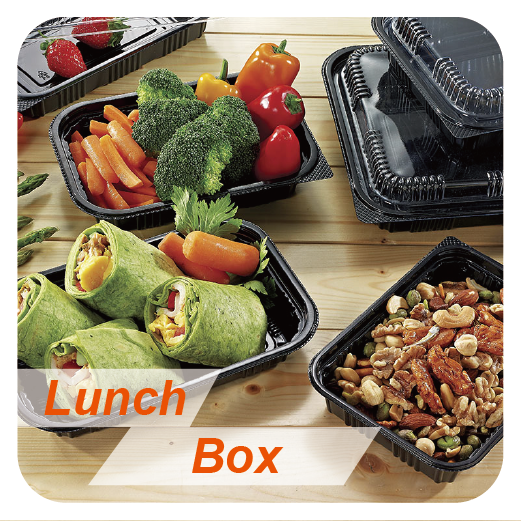PLA Tray Food Grade To Go Containers Food Disposable Salad And Fruit Container