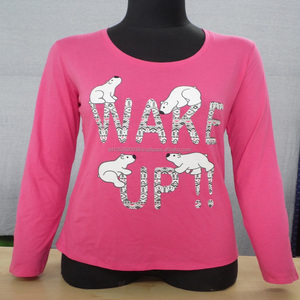 High Quality Export Oriented Womens Long Sleeve Cheap T Shirts