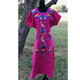 Fashionable Mexican Kaftan Embroidered party mexican dresses wholesale women vintage Tunic Long dress