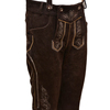 MEN TRADITIONAL GERMAN LEDERHOSEN BAVARIAN LEATHER TROUSERS DIFFERENT COLORS OKTOBERFEST PANTS