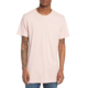 OEM Plain Blank Split Hem Tee Pink Color Men Top Longline T Shirts