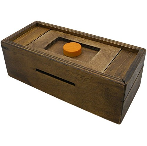 Buy Puzzle Box Enigma Secret Discovery Money And Gift Card Holder