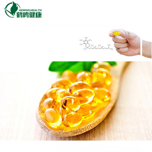 Health food supplement Vitamin E soft gel capsules manufacturer