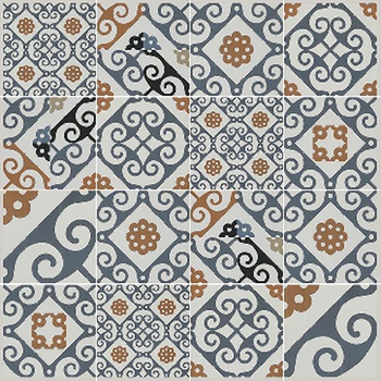 2019 New Design Decorative Floor Tiles 600x600x9.5mm Thickness