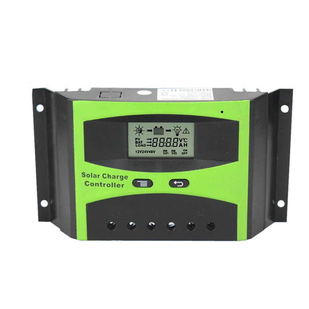 Vta-Tech Solar Charge Controller 30A 12V 24V Settable Voltage Function Light Timer Solar Regulator 30amp