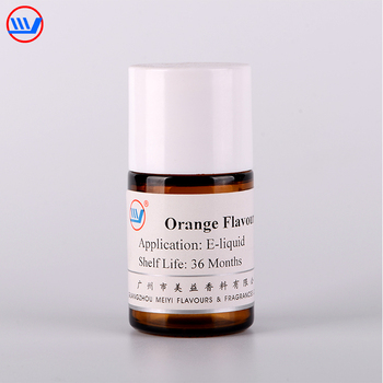 Concentrated flavour orange flavor for e cigar vape