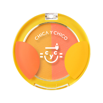 CHICA Y CHICO BEAUTY BLOOM 2 สี CHEEK BLUSHER