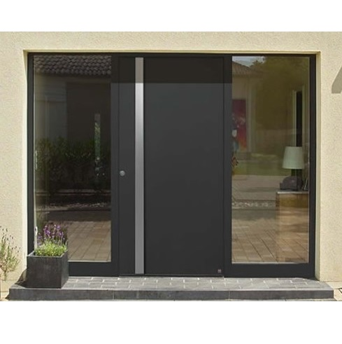 Aluminum exterior entrance Door modern