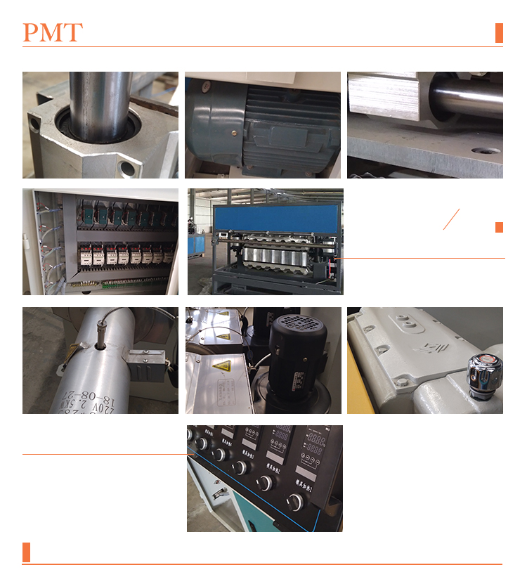 Plastic Pvc Granule Production Line / Extrusion Plastic Molding Machine