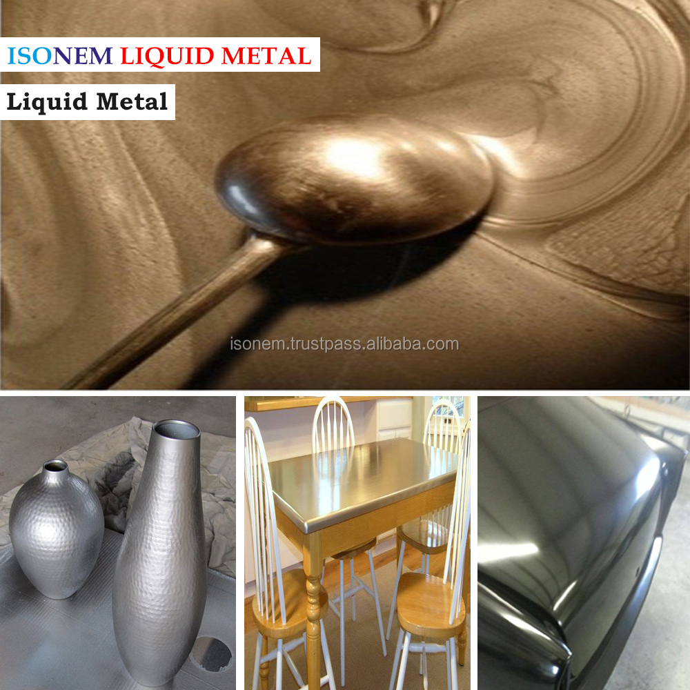 ISONEM LIQUID METAL CHROME EFFECT PAINT AND BLACK BASE