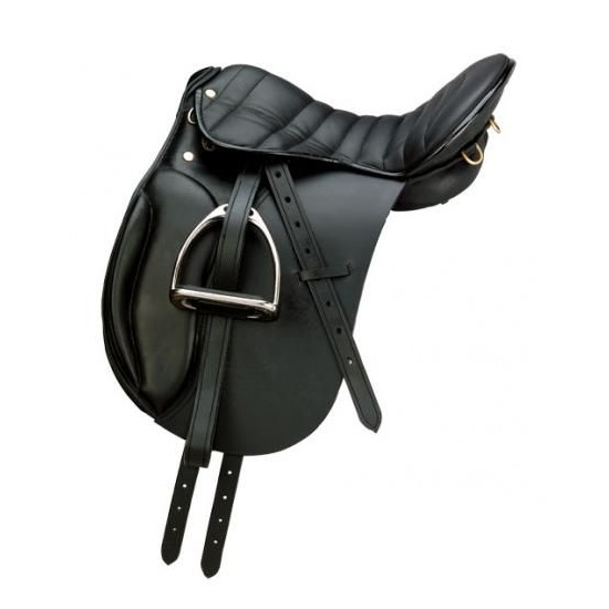6082 English Endurance Genuine Horse Riding Leather Saddle