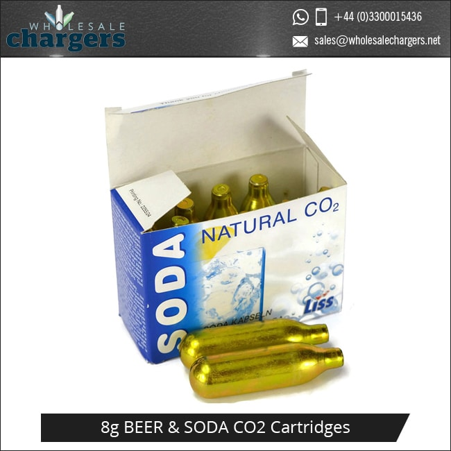 8G Co2 Cartridge for Carbonated Soft Drinks