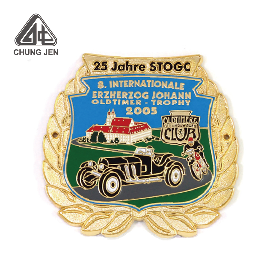 High Quality Car Show Competition Metal Medal