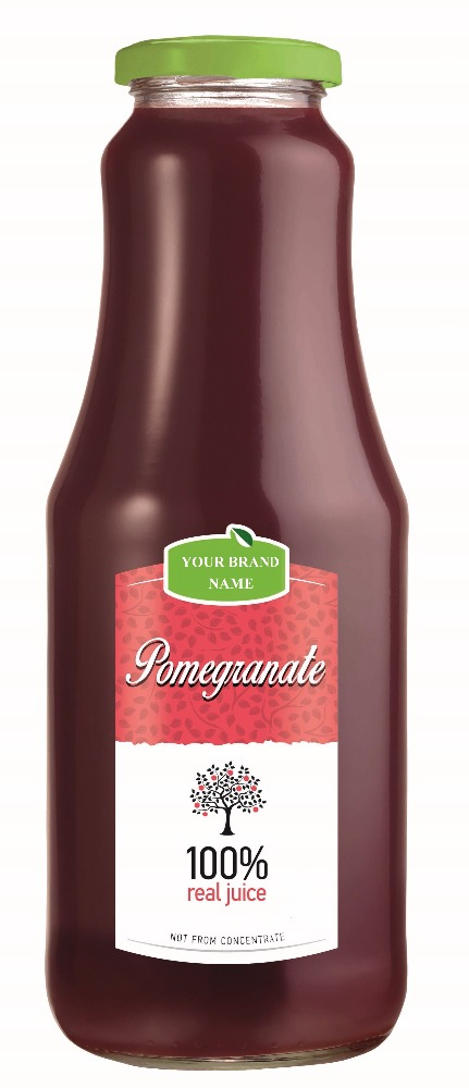 Direct Pomegranate Juice Form 100% Freshly Squeezed Pomegranates - 250 and 1000 ml. Private label Available. Made In EU