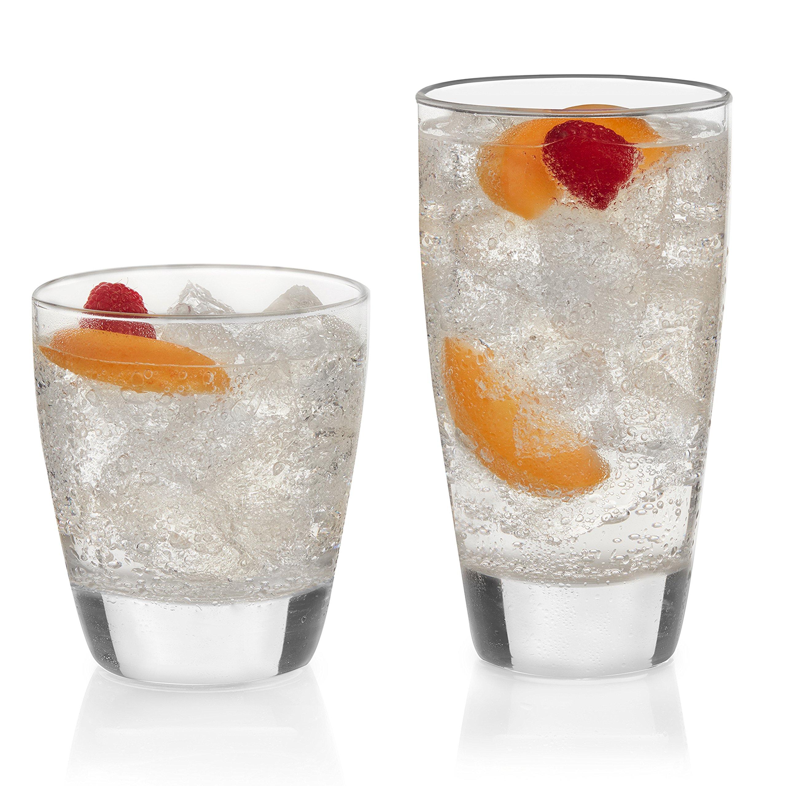 Libbey Classic 16-piece Drinkware Glass Set