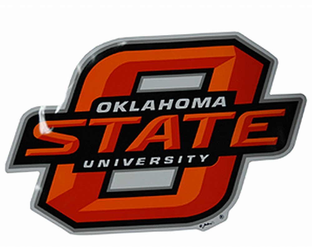 "NCAA Oklahoma State Cowboys Car Magnet ""OS"", Large, 2 Pack"