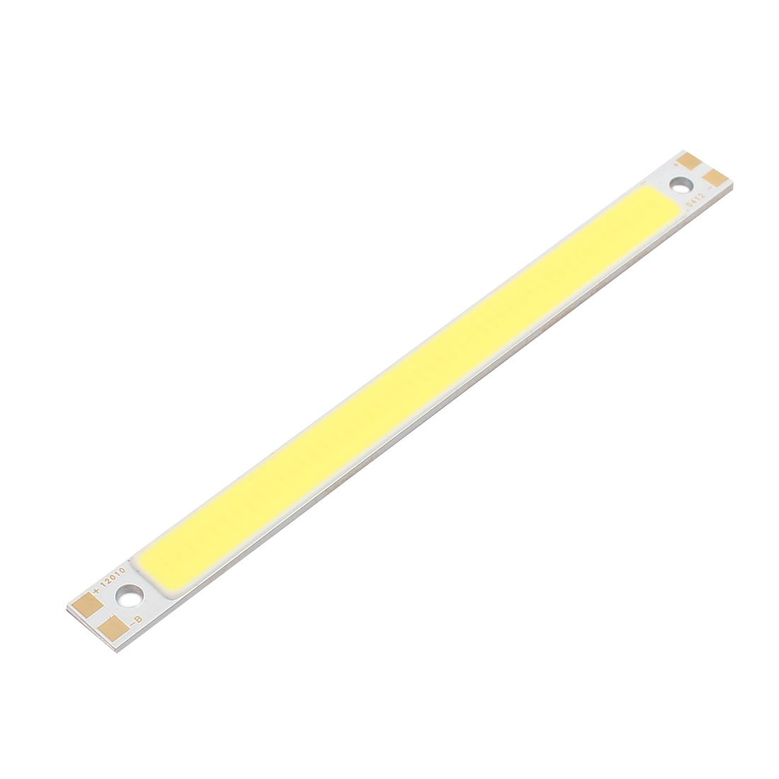 uxcell 300mA 3W COB LED Strip Light Lamp Chip Pure White High Power 100mmx9mm Luminous Surface