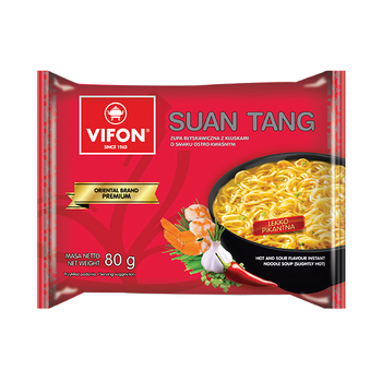 VIFON PREMIUM Suan tang Hot and Sour Instant Noodle Soup