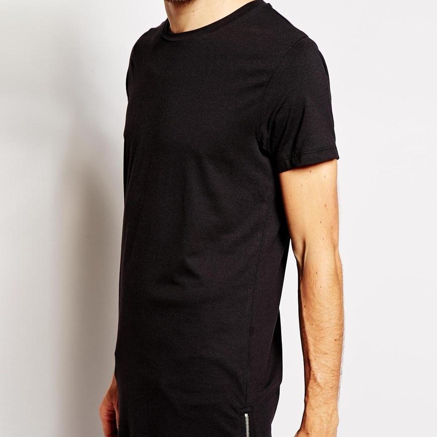 купить длинную футболку мужскую