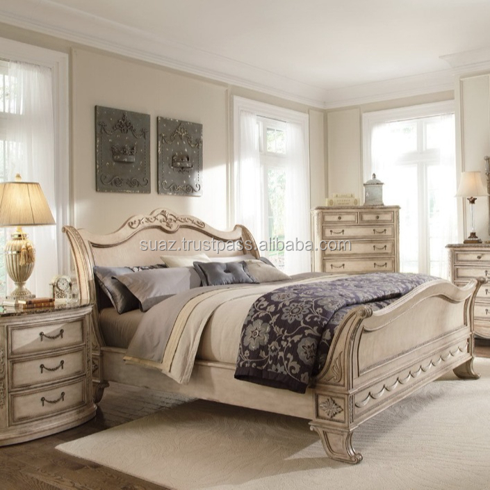 White Color Wooden Bed Sets Royal King Size Luxury Beds,Modern Leather Wood  Beds,Super King Size Beds Extra Size Beds - Buy Pink Leather Headboard ...