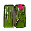 Wholesale Tweezers Cuticle kits grooming mini size beauty nail care manicure pedicure set Professional