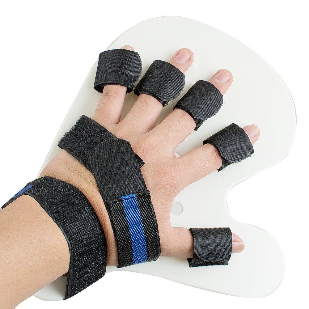 Jinon Finger Orthotics Points Fingerboard Stroke Hemiplegia Finger Training Device for Stroke/hemiplegia/Traumatic Brain Injury
