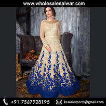 <span class=keywords><strong>Superbe</strong></span> nouvelle collection Net costumes anarkali-costume Anarkali