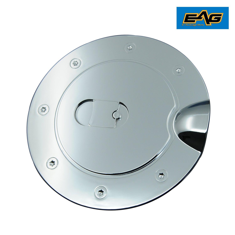 07-14 Chevy Silverado 2500+3500+HD Triple Chrome Fuel Tank Gas Cap Door Cover