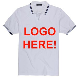 training polo melange gray stripped colar cuff training uniform office short sleeve dry fit mesh fabric garments OEM