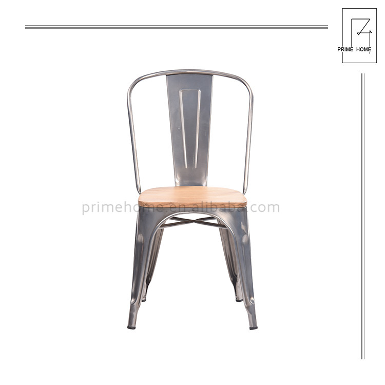 Superior Quality Banquet Stacking High Back Dining Chair, Antique Metal Dining Chair Design