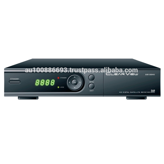 ClearView DSR1000HD MPEG-4 DVB-S2 H264/AVC Full HD 1080 p Digital Satellite TV Empfänger
