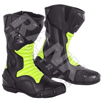 New Motorcycle Racing Cowhide Leather Boot Racing Motorbike Shoes For Best Design