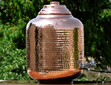 Copper water storage port 219oz