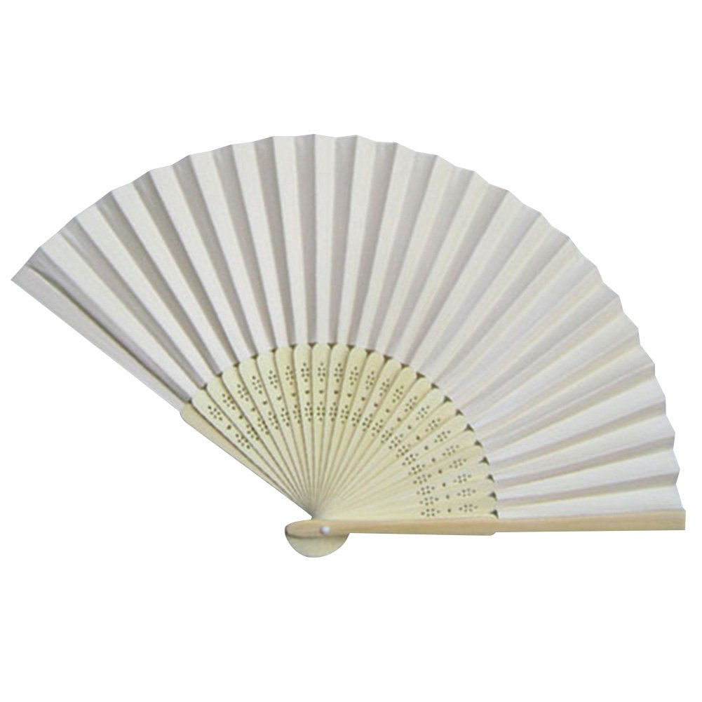 Buy Hand Held Bamboo Folding Fan Wedding Favor Chinese Style Craft ...