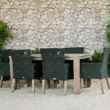 2018 Modernen Synthetischen Rattan Gartenmöbel Tisch Und Stühle