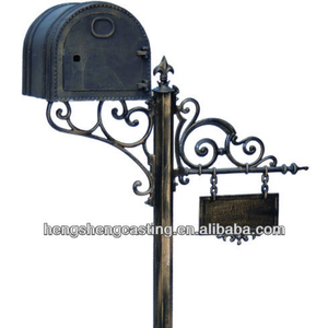 cast iron mailboxes for sale