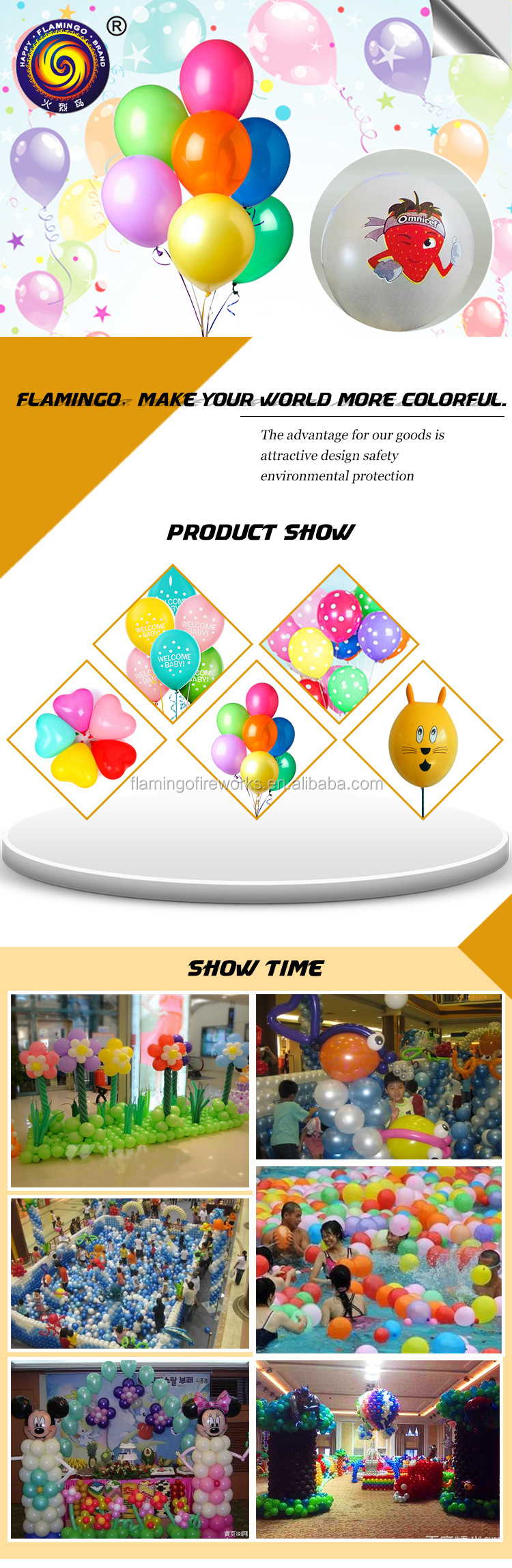 OEM supplied high quality balloons colorful balloon,balloon led