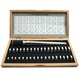 universal Finger ring Sizes Gauge / Ring Stick Set with Wooden Box