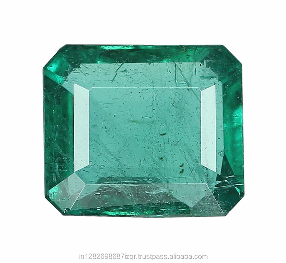 Very Clean lovely Precious 12.46 Carat Natural Zambian Emerald Gemstones For Ring Jewellery