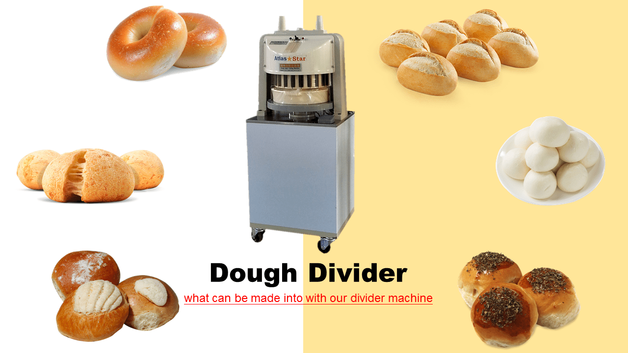 Industrial Dough Cutter Divider Machines Stainless Steel Blade 36 pcs.