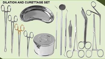 Dilation Curettage Set Buy Dilation Curettage Set