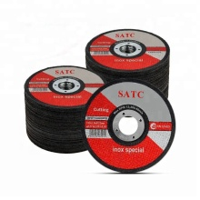 High speed 5-inch 125*1*22 Cutting Wheel/Cutting Disc For Inox/stainless steel Cutting with MPA certificate