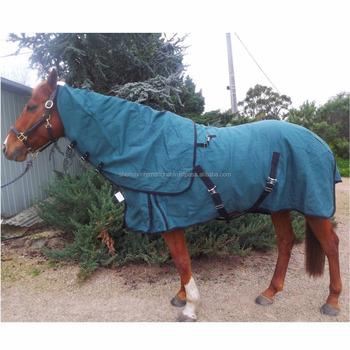 20oz Woolen Lined Canvas Horse Rug