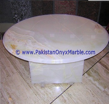 New Coming Price White Onyx Table Tops Collection